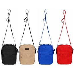 Sup 44th Borsa a tracolla Chest Pack Fanny Pack Moda Vita Uomo Canvas Hip-Hop Belt Bag Uomo Messenger Bags 18ss cheap canvas messenger bags da sacchetti di messaggistica di tela fornitori