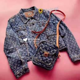 2019 chaquetas de moto de época Chaqueta de mezclilla de los hombres Diseñador de moda Chaqueta Marca Motocicleta Delgada Causal Mens bordado Abrigos Estilo Hip Hop Vintage letras Chaqueta delgada chaquetas de moto de época baratos