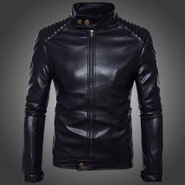 154a5421e1351 New Boutique Leather Jackets Men Black Bomber Motorcycle Jacket Male  Natural Leather Windbreaker Moto Biker Coat Plus Size 5XL