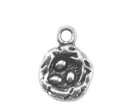Joyería nido online-JF130 Estilo nórdico Bird Nest Eggs Encantos de plata antiguos Diseño de DIY que hace la joyería para el amigo como regalo