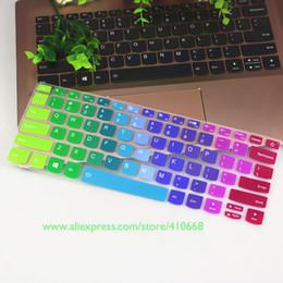 Teclado ideapad online-Protector de piel de la cubierta del teclado del ordenador portátil de silicona para Lenovo Ideapad C340 14 pulgadas C340-14API c340-14iwl C340 14API 14IWL portátil