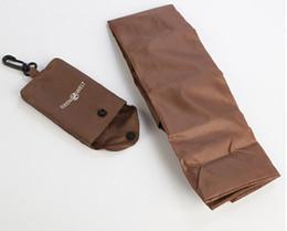 2019 saco personalizado do eco Coffee Brown Cavalheiro dobrável saco de compras eco-friendly saco de compras personalizado brindes promocionais itens desconto saco personalizado do eco
