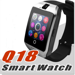 2019 mini carte sim gratuite Pour Smartphone 7 7 8 X Bluetooth Smart Watch Apro Q18 Sports Mini caméra pour Android iPhone Téléphones intelligents Samsung Carte SIM GSM Touch DHL gratuit. mini carte sim gratuite pas cher