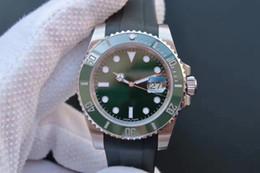 лента для воды Скидка Новые роскошные часы 116610 Water Ghost v7 Edition с клейкой лентой оснащены 3135 автоматическими механическими механизмами роскошных часов