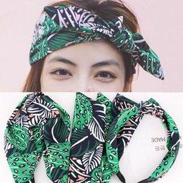 Aros bufanda online-Xiacaier coreana pelo de la venda del anillo de la tela escocesa del pelo de la venda de la bufanda banda de la cinta del oído de Headwear de las mujeres del arco Niñas Accesorios aro