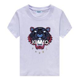 Vêtements de style preppy en Ligne-Nouveau Mode KENZO femmes hommes T-shirts décontractés été impression vêtements Vêtements enfants tops manches courtes Garçons et filles T-shirts