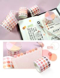 Nastri giapponesi online-Japan style romantico nastro di washi Bella mascheramento nastro supporto Scrapbooking scuola adesivo decorativo
