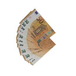 lenço de creme para crianças Desconto 100pcs / set Prop Cópia Dinheiro Falso Crianças Aprender Brinquedos Ferramenta para filmes de 10 20 50 100 Euro filme dinheiro, dinheiro de jogo Descompressão Toy