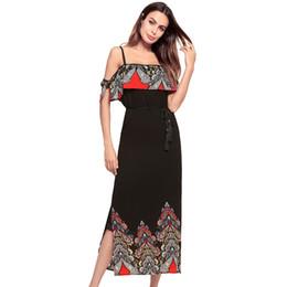Vestido de mulheres estilo quente novo vestido de chiffon sexy longo com suspensor no verão 2018 9. vestido deslizamento singlete de