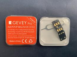 2019 reparação de dongle 100% testado setembro 24 ATUALIZADA GEVEY PRO V13 POP-UP MENU desbloquear ICCID + MNC MODO para ios13.1.2 para iPhone 11 pró max XS XR 8 7 6 5s
