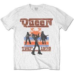 fb0defb5017f 8 Fotos Compra On-line Camisas de turismo-Rainha dos homens XXL Tour 1976  Silhuetas Camiseta