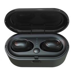 Дешевые TWS Двойная Bluetooth-гарнитура Mini 5.0 Спортивные Наушники Водонепроницаемые в Ухе Правда Беспроводные Наушники Беспроводные Наушники Для Сотового Телефона от