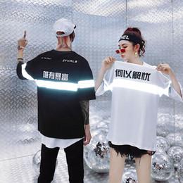 brillar camiseta de moda Rebajas Kanji Rich Camisetas Hombre Streetwear Camisetas de algodón Hip Hop Hombres 2019 Shine Fashion Peace Tops Camisetas para parejas