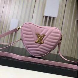 Сумки с сердечком онлайн-M44520 леди форма сердца полоса сумочка клатч кошелек сумка розовый сумка Посланник сумки через плечо сумки сумки сумки Сумки Бостон сумки