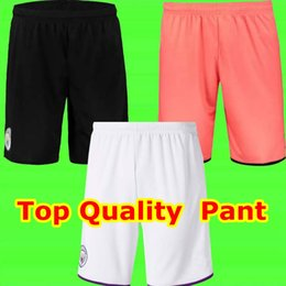 calças de futebol tailândia Desconto Top Tailândia JESUS DE BRUYNE KUN AGUERO 19 20 manchester futebol Cidade curta Soccer pants camisa de futebol 2019 2020 futebol Curto