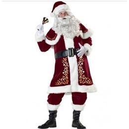 Noel Unisex Parti Elbise Tema Kostüm Noel Baba Takım Dijital Baskılı Uzun Kollu Üniforma Cosplay nereden