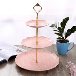 Тортовая подставка для тарелки Кронштейн для подставки Новый 2-х уровневая подставка для тарелки Кекс-фитинги Серебряная золотая свадьба (тарелка в комплект не входит) SH190717 от