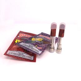 Мешки аккумуляторные батареи онлайн-Вертикальная керамическая катушка Wickless th210 DABWOODS картриджи бак для ручки для испарителя с деревянным наконечником для батарейного блока imini mod 510 от ароматизатора