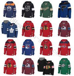 sudadera con capucha de hockey nhl Rebajas Costumbre hockey NHL camiseta básica Chicago Blackhawks Vancouver Canucks St. Louis Blues Tampa Bay Lightning New York Rangers Boston Bruins