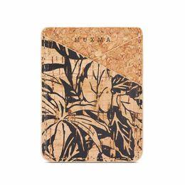 2019 carteras de madera Funda universal para teléfono Estilo de impresión de flores Textura de madera Ranuras para tarjetas de billetera de cuero de PU Cubiertas de adhesivos posteriores para iPhone Samsung Huawei carteras de madera baratos