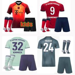 46df9de17ab1a 2019 uniformes deportivos para niños Jerseys de fútbol 2019 2020 Bayern  Munich EA Sports Kids MULLER