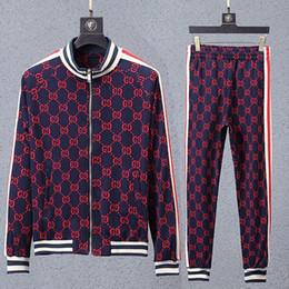profumo rosso di festa Sconti Nuovi abiti sportivi Medusa da uomo Luxury Designer Tute sportive Giacche Completi da uomo Nuovo marchio Medusa Felpe Suit M-3XL