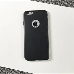 Argentina Blanco Negro Sencillo Moda de negocios Resistente a la suciedad Grado A +++ Ronda Hollow Scrub Tpu Caja del teléfono suave para iphone x 6 6 s 7 7 Plus 8 Suministro