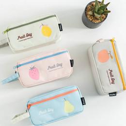 Sac à crayons carré grande capacité sac de crayon de toile simple sac de papeterie bureau étudiant créatif ? partir de fabricateur