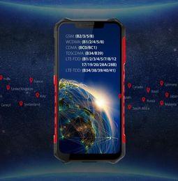 2019 gps de telefones robustos Original Ulefone Armor 6 À Prova D 'Água IP68 NFC Telefone Móvel Robusto Helio P60 Otca-core Android 8.1 6 GB + 128 GB carga Sem Fio versão Global gps de telefones robustos barato