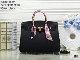 высококлассные дизайнеры сумочек Скидка Бесплатный корабль высокое качество женщин дизайнерские сумки высокого класса дизайнер плеча сумки через плечо путешествия сумки с замком 12 цвет 30 см и 35 см