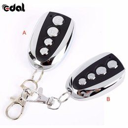 брелок для ключей Скидка 1PC Remote Control Cloning Gate for Garage Door Car Alarm Products Keychain 433 Mhz