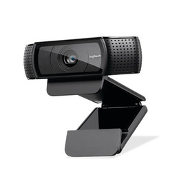 webcam di registrazione video Sconti Webcam HD Pro C920e, videochiamata e registrazione widescreen, fotocamera 1080p, webcam desktop o laptop, versione di aggiornamento C920