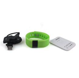 Модный браслет TW64 FITBIT Smart Band Фитнес-активность Трекер Bluetooth 4.0 Smartband Спортивный браслет 5 цветов для Android IOS DHL от