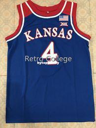 e85550570  4 Devonte Graham Kansas Jayhawks KU Top Basketball Jersey All Size  Embroidery Stitched Customize any name and name XS-6XL vest Jerseys NCAA  discount ku ...