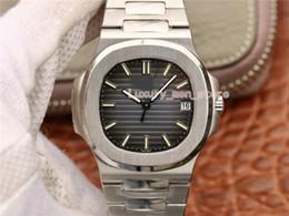 2019 tops de modelos de oro 6 Color Modelo clásico Top de lujo Reloj para hombre Nuevo Nautilus Marrón Dial 18k Reloj de oro rosa 5711 / 1R-001 5711 Relojes automáticos para hombre tops de modelos de oro baratos
