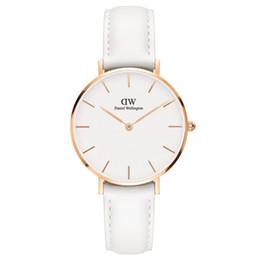 2019 goldklammern Eine neue Daniel Wellington Damen Armbanduhren 32mm Frauen Uhren Marke Berühmte Quarzuhr Weibliche Uhr Relogio Montre Femme Alle Stahl Klammer günstig goldklammern