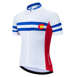 1a46984f5 2019 Colorado New Team Cycling Jersey Customized Road Mountain Running Top  max storm Reflective zipper 4 pocket