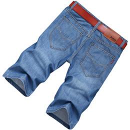 XT1062 novo 2017 homens de lazer cowboy no verão e seção fina solta 5 cinco minutos de jeans barato por atacado cheap cheap summer jeans de Fornecedores de barato verão calças de brim