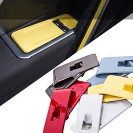 garniture de fenêtre de porte intérieure Promotion ABS voiture porte intérieure fenêtre panneau de commande couverture moulage moulure pour Volkswagen coléoptère 2013 2014 2015 2015 accessoires intérieurs