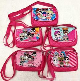 Canada Livraison gratuite DHL lol poupées sacs de stockage Birthday Party Favor pour les filles cadeau sac cordon sac à dos enfants jouets reçoivent package sac de plage de natation Offre
