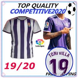 19 20 Real Valladolid Футбольные майки Таиланда высокого качества 2019 2020 camisetas de fútbol 22 Martinez 5 Calero 14 Alcaraz 15 Футболки Unal от