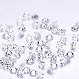 pequenas pedras de cor Desconto Small Size Moissanite Small Size D Cor Perto 0.005ct * 219pcs / Pacote Perto diamante mais de alta qualidade Preços por Atacado Para pedras laterais