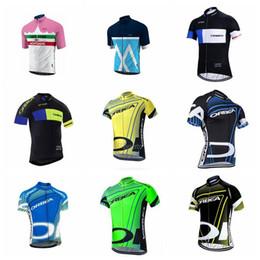camisetas de ciclismo orbea Rebajas 2019 nuevo ORBEA Morvelo Jerseys Ciclismo Mangas cortas Ciclismo de verano Ropa Ciclismo Ropa de bicicleta Cómoda camisa transpirable K010320