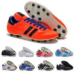 super popular 9be7f a47d0 scarpe da tamburo copa Sconti Designer Copa Mundial Leather FG Mens Scarpe  da calcio Triple Red