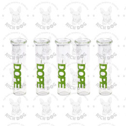 Pontas com filtro de cigarro de vidro on-line-35 MM Filtro De Rolamento de Vidro Dicas Para O Tabaco De Fumar Papel Fumar Seco Erva Cigarro Cone Seco Erva Boca De Vidro Redondas Dicas de Filtro