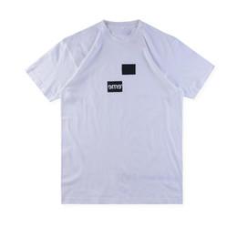 47b782900 2019 logotipo impreso camisetas Camiseta de los hombres Nueva moda 18FW  Caja Logo X des Tee
