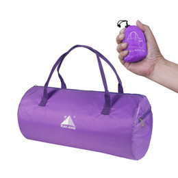 purple handbags for sale Coupons - 1 Pcs Women Men Travel Bag Handbag Foldable Large Capacity for Outdoor Sport Best Sale-WT