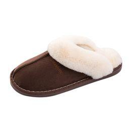 Herren Winter feste flauschige Slipper Haus Indoor Outdoor Herren Schuhe 2019 warme Hausschuhe Chaussure Homme Erkek Ayakkabi # y3 von Fabrikanten
