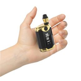 vape usa original Desconto 100% Autêntico Kangvape TH-420 V Box Kit 800 mAh TH420 V bateria mod Com Tela OLED com 0.5 ml de Espessura de Óleo Tanque De Cartucho De Cerâmica