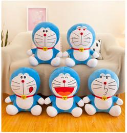 Üretici toptan Doraemon bebek peluş oyuncak robot kedi mavi yağ Uluslararası çocuk Bayramı kız arkadaşına hediye nereden robot bebekleri tedarikçiler